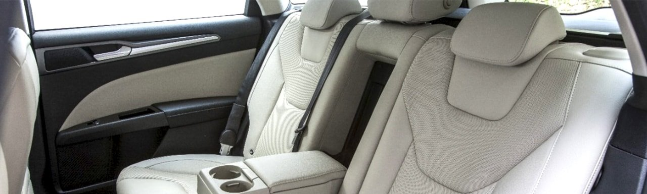 Rear Inflatable Seat Belts