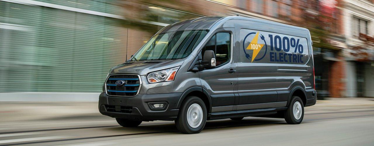 Register your Interest in an Electric Van