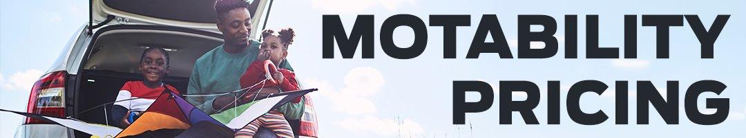 Motability Pricing Update