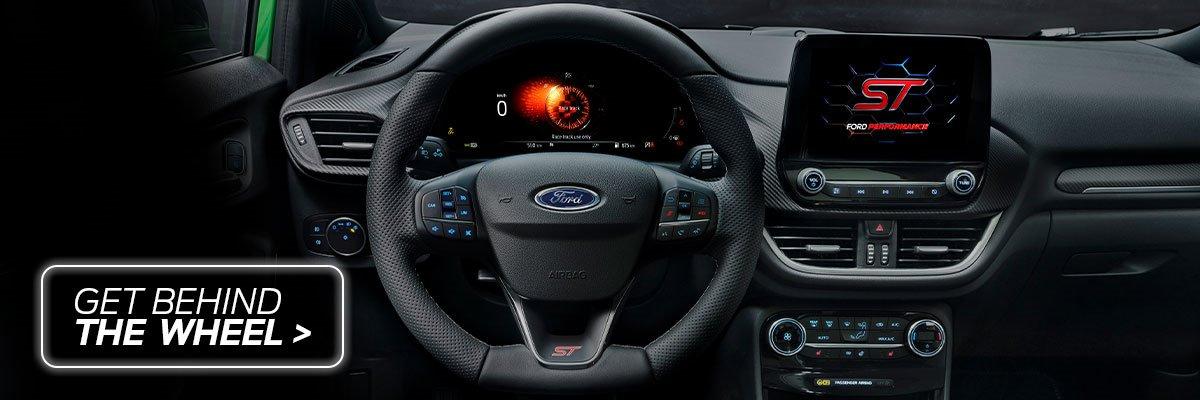 get behind the wheel