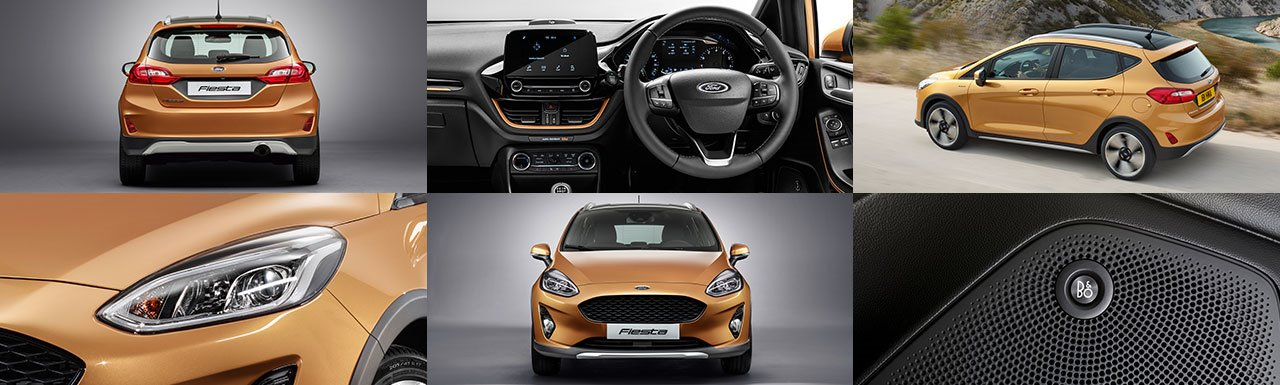 Ford Fiesta Active Gallery