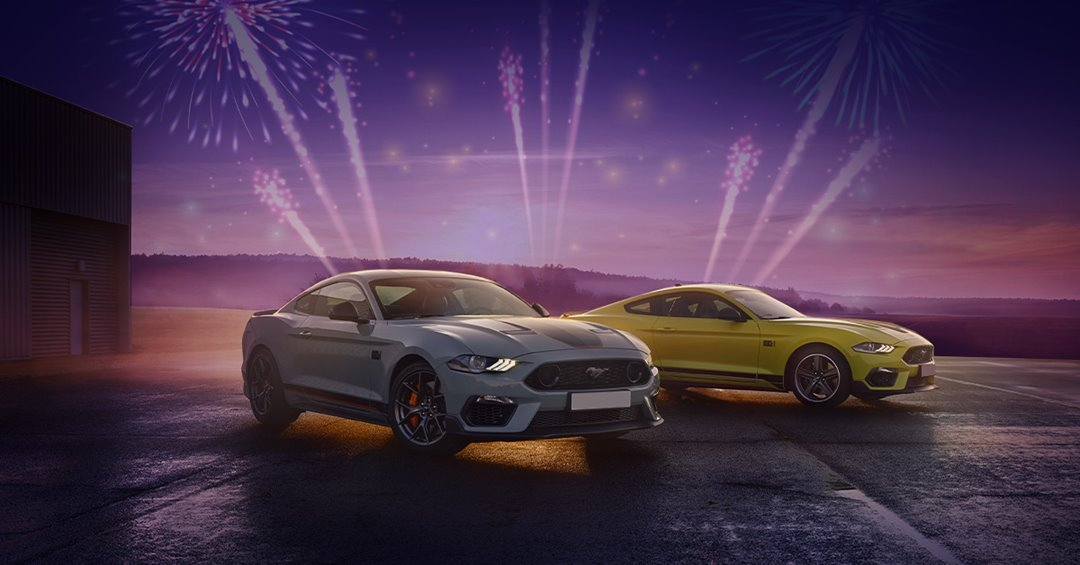 Light Up Bonfire Night with an array of Ford Colours