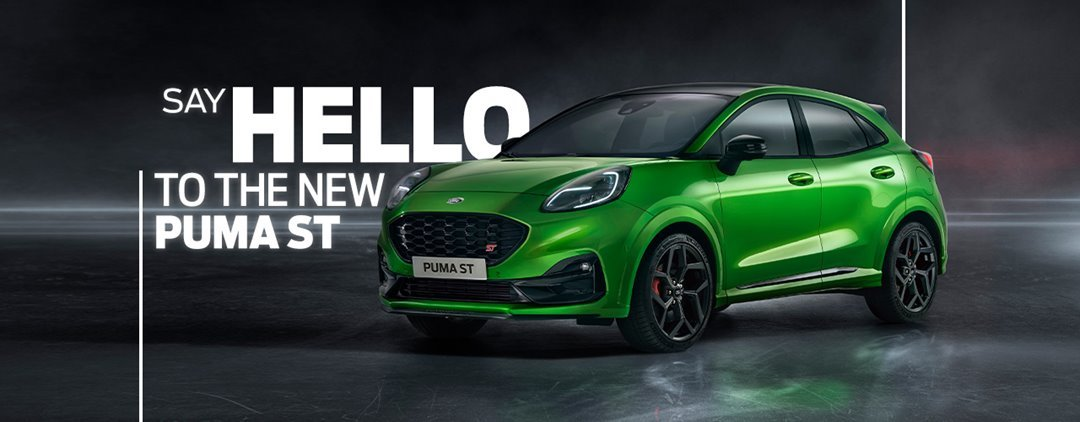 Ford's First Performance SUV in Europe: the new Ford Puma ST