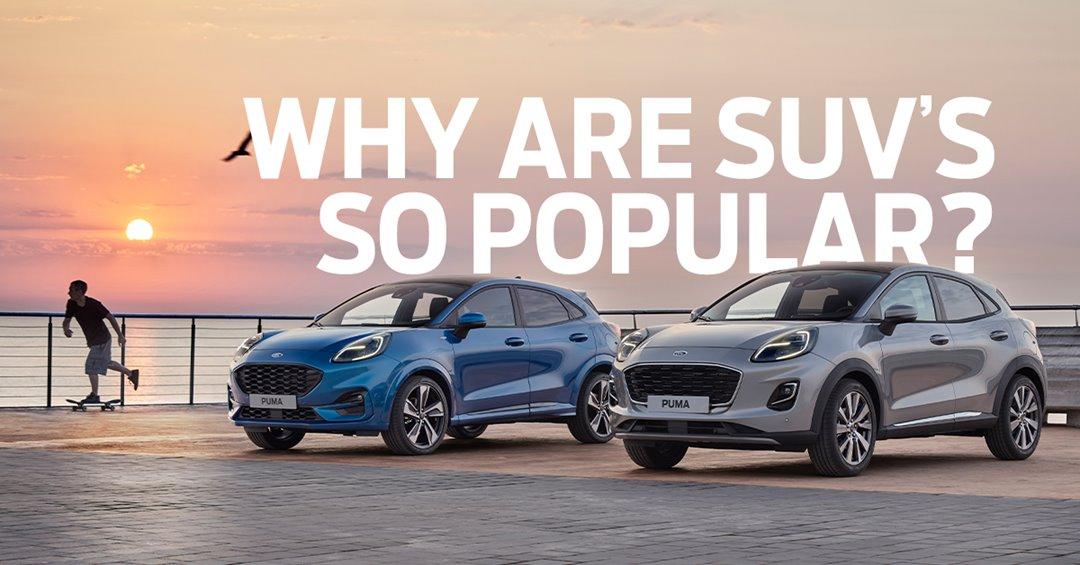 Why are SUVs so popular?