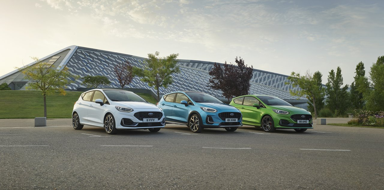 Ford Unveils New Fiesta