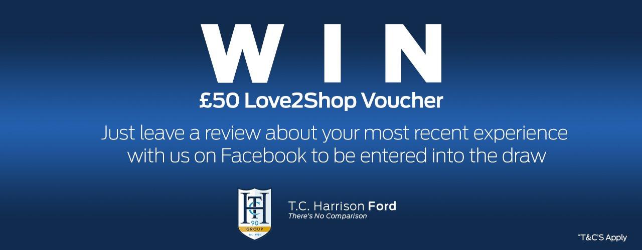 WIN a £50 Love2Shop Voucher!