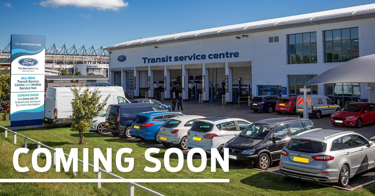 New Transit Service Centre at TC Harrison Ford Derby