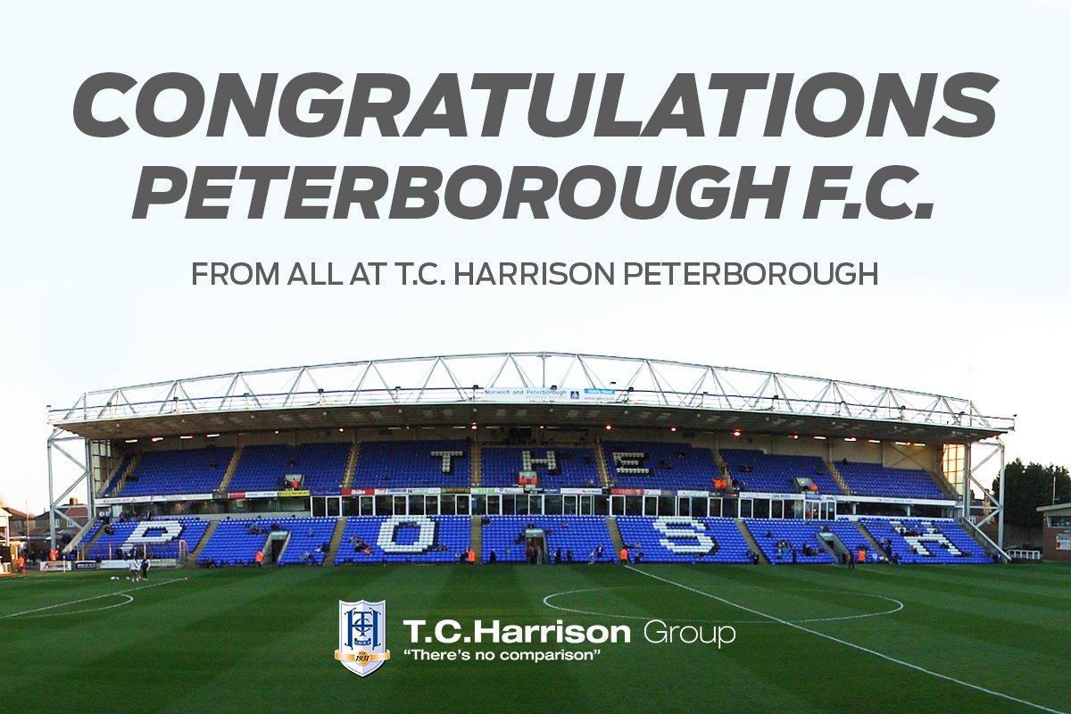 Congratulations Peterborough United FC