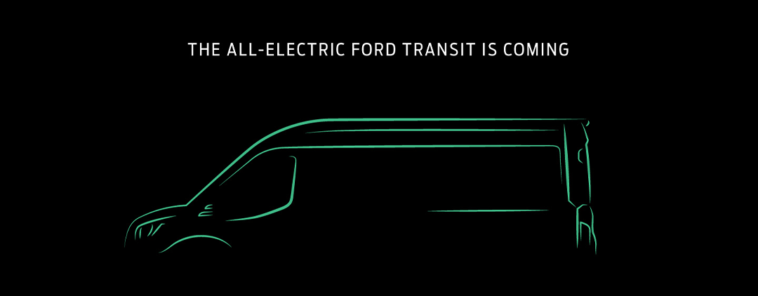 Ford confirm fully Electric Transit Vans
