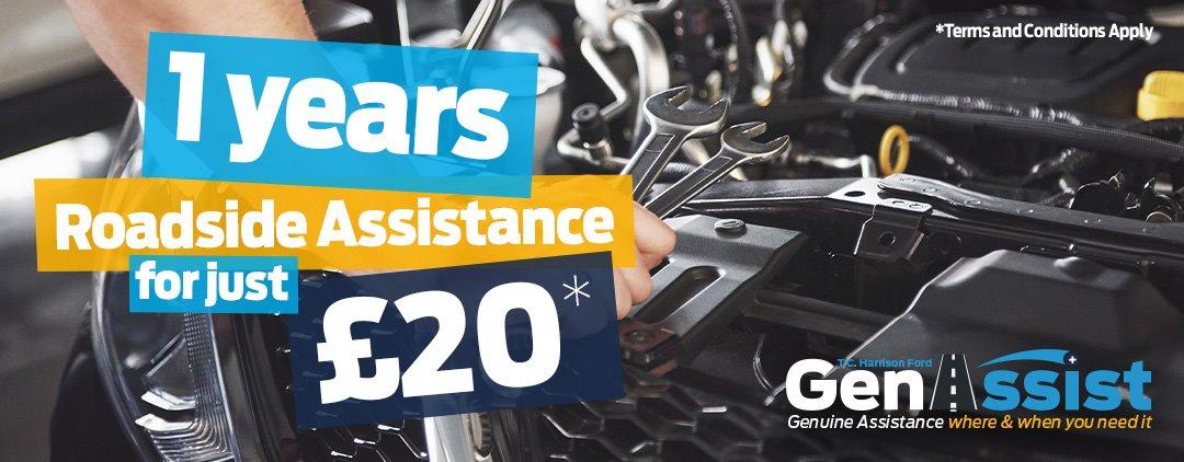 £20 Roadside Assistance