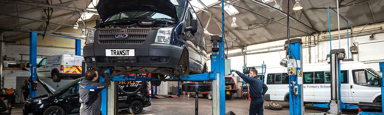 Ford Motorcraft Transit Servicing