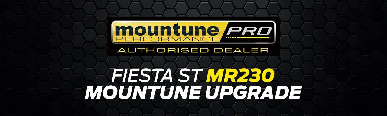 Mountune MR300 upgrade for Fiesta ST