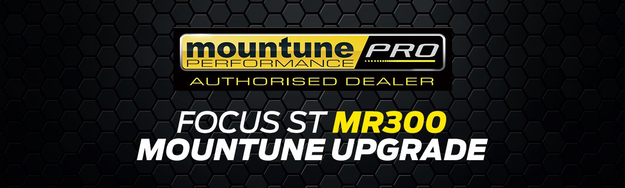 Mountune MR300 upgrade for New Focus ST