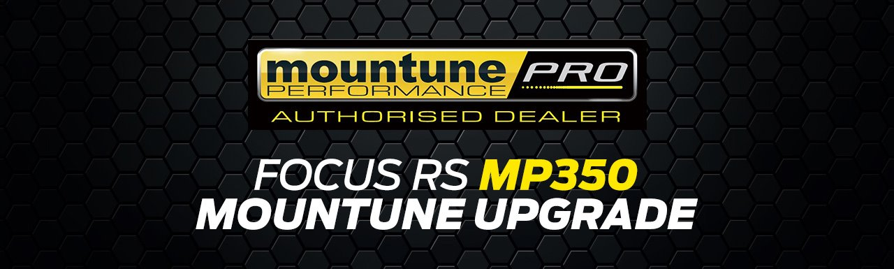 Moutune MP350 upgrade for Focus RS
