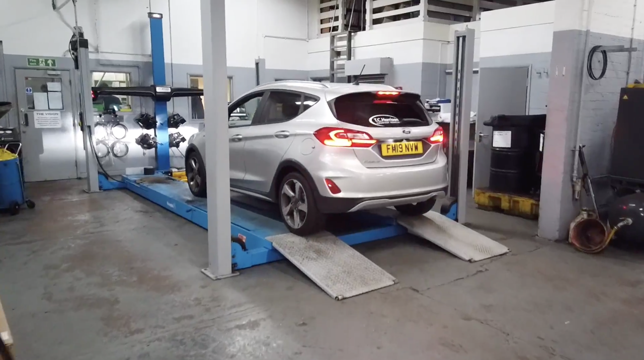Servicing your vehicle at TC Harrison